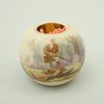Ceramic Hunting Match Holder, Taylor Tunnicliff