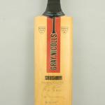 Autographed Cricket Bat, Gray Nicolls
