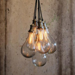 Hanging Lamp with 5 bulbs