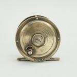 Trout Fishing Reel in Brass by F.J Williams
