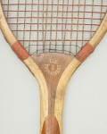 Vintage Bussey, Ball Tail Lawn Tennis Racket