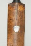 Cricket Bat with Silver Plaque