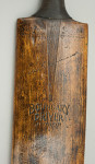 Don Bradman Cricket Bat by Sykes.