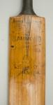 W. Hammond Cricket Bat
