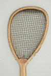 Antique Lop Sided Charles Ward Lawn Tennis Racket.