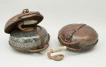 Curling Stone In Leather Carry Case