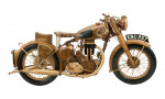 Wooden Model of a Matchless Motorcycle