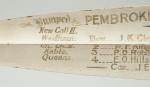 Pembroke College Oxford Rowing Oar