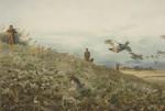 Partridge Shooting By Thorburn