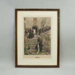Dendy Sadler Print, Fishing