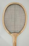 Vintage Lawn Tennis Racket, The Match