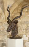 Antelope Head Sculpture