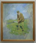 Tom Morris Oil Painting