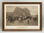 Golf Photogravure of Royal Blackheath Golf Club, 1891