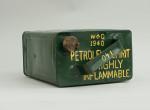 Vintage Military Petrol Can, Motoring.