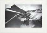Alpine Ski Photograph, Virgin Powder