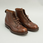 Pair of African Field Boots 'The Road King' In Tan Leather