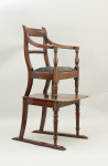 Rope Back Child's High Chair