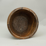 Impressive Large Walnut or Teak Bowl