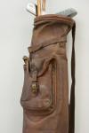 Leather Pig Skin Pencil Golf Bag