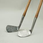 Antique Golf Clubs, J.H. Taylor Autograph Irons, Lane Crawford Ltd