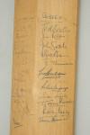 Signed Stuart Surridge Cricket Bat, Australia, Lancaster, Cambridge, Glamorgan & Sussex, 1964