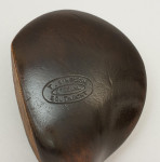 Vintage Hickory Shafted Brassie Golf Club By T. Simpson of Southport.