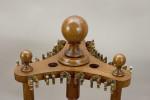 Revolving Oak Snooker Cue Rack