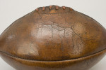 Antique Leather Rugby Ball With 4 Panels