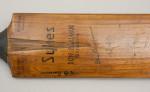 Sykes 'Don Bradman' Autograph Cricket Bat