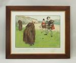 Charles Crombie Humorous Golf Print