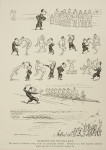 Humorous Rowing Print, Mesmerism And The Boat Race By H M Bateman