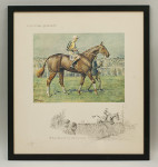 Snaffles Horse Racing Print, A National Candidate