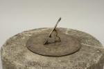 Bronze Horizontal Sundial, Vintage Garden Ornament