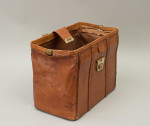 Leather Bag With Carry Handles