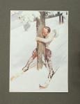 Below Zero By Noel Pocock, A Travesty Of Winter Sport. Humorous Winter Sport Book.
