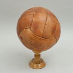 Unused Leather Football, Soccer Ball.