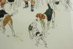 Vintage Equestrian, Cecil Aldin Hunting Print, Every Dog Has His Day