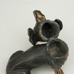 Vienna Bronze Dachshund Inkwell