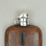 Silver Plated Hip Flask By Dixon & Son, Sheffield