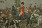 Snaffles Fox Hunting Print, Roadsters