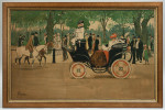 Motoring Lithographs By Lance Thackeray, Town & Country
