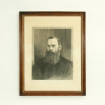 Dr. W. G. Grace, cricket Print,  Illustrated London News.