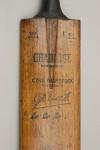 Gradidge Cyril Washbrook Autograph Cricket Bat