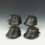 Set Of Leather Horse Shoes For Tennis And Cricket Lawns