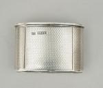 Antique Silver Hip Flask By Asprey, London 1862