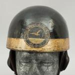 Vintage Motorcycle Helmet, Pudding Basin