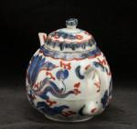 Chinese Imari teapot