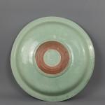 Japanese Celadon Dish