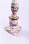 A 19th century Paris porcelain lamp base